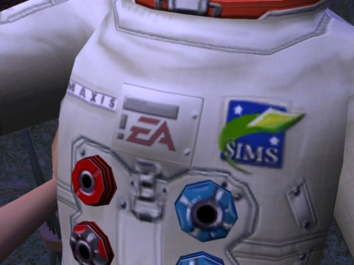 Space suit detail