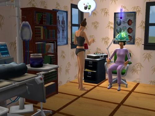 Brandi tutoring Christy on the Lie Detector