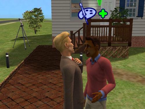 Dorian flirting with Professor Vince