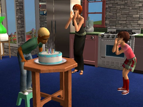 Sims 2 Story -- More about Gabriel and Gina