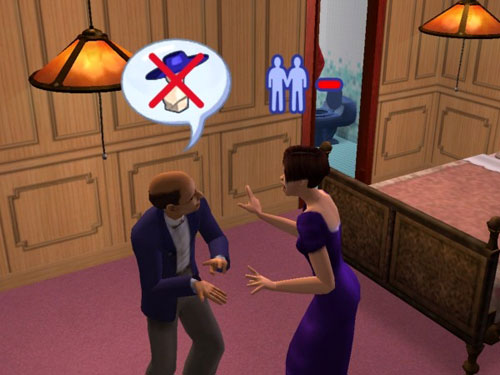 Melissa argues with the Headmaster