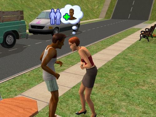 Eleanor is amused by Joe's prank