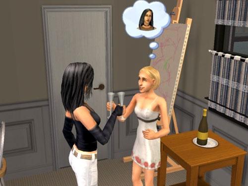 Olivia toasts Kaylynn
