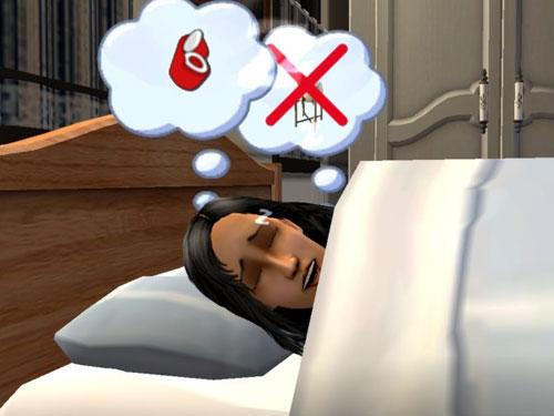 Kaylynn and Benjamine, dreaming.